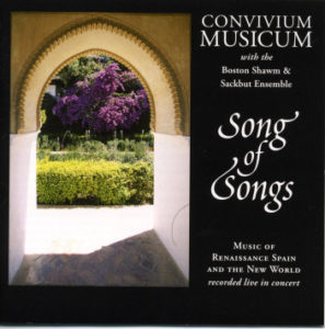 Song of Songs CD cover